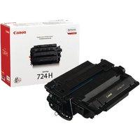 Image of Canon 724H Black High Yield Toner Cartridge 3482B002