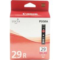 Image of Canon Red 29 PIXMA PRO-1 Ink Tank PGI-29R 4878B001AA