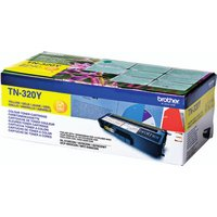 Image of Brother Yellow TN320Y Laser Toner Cartridge