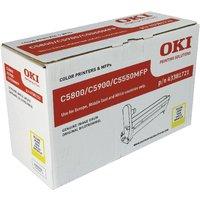 Image of Oki C5800/C5900 Image Drum Yellow 43381721