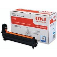 Image of Oki C711 Cyan Image Drum 20K 44318507
