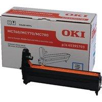 Image of Oki MC760/MC770/MC780 Cyan Imaging Unit 45395703