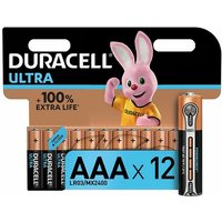 Image of Duracell Ultra Power Batteries Batteries AAA (Pack of 12)