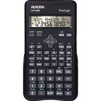 Aurora Black 2-Line Scientific Calculator AX582BL