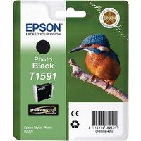 Image of Epson T1591 Black Photo Inkjet Cartridge C13T15914010 / T1591