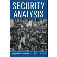 Image of Security Analysis: The Classic 1951 Edition: (3rd edition)