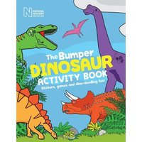 'The Bumper Dinosaur Activity Book: Stickers, Games And Dino-doodling Fun!