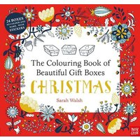 'The Colouring Book Of Beautiful Gift Boxes: Christmas: (colouring Book Of Beautiful Boxes)
