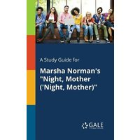 """Image of A Study Guide for Marsha Norman's """"Night, Mother ('Night, Mother)"""""""