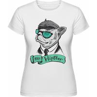 100% Hipster Hund · Shirtinator Frauen T-Shirt