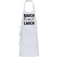 Bauch Statt Lauch · Profi Kochschürze