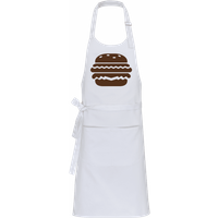 BBQ Burger Brown · Profi Kochschürze