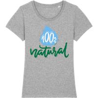 100% Natural · Frauen Premium Bio T-Shirt Stanley Stella