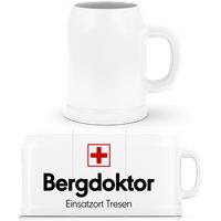 Bergdoktor Einsatzort Tresen · Bierkrug