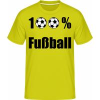 100 % Fußball · Shirtinator Männer T-Shirt