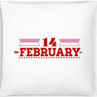 14 February Valentine · Kissen