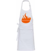 BBQ Fire Sign · Profi Kochschürze