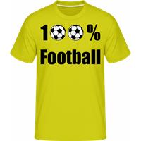 100 % Football · Shirtinator Männer T-Shirt