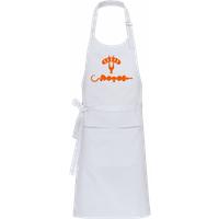 BBQ Food Orange · Profi Kochschürze