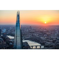 View From The Shard With A Three Course Meal & Wine For Two At Café Rouge Picture