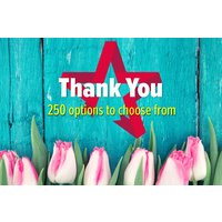 Thank You - Gift Experience Voucher Picture
