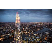The View From The Shard And A Three Course Meal With Wine For Two At Dim-t Picture