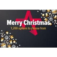 Merry Christmas - Gift Experience Voucher Picture