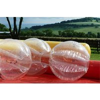 Football And Maze Runner Zorbing Experience For 8