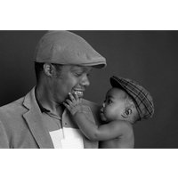 Father & Child Photoshoot Picture