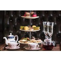 Afternoon Tea For Two At Map Maison With A Glass Of Fizz Or A Cocktail Picture