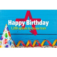 Happy Birthday - Gift Experience Voucher Picture