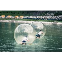 Winter Water Zorbing Experience For Two Picture