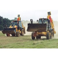 Jcb Digger Racing Experience At Diggerland Picture