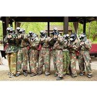 Teen Paintballing For Two Picture