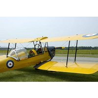 Teen Tiger Moth And Tank Day Picture