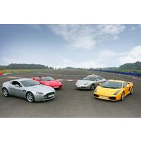 Supercar Taster With High Speed Passenger Ride