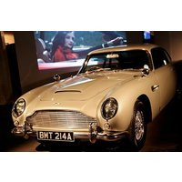 Bond In Motion Exhibition With Cream Tea Or A Meal For Two Picture