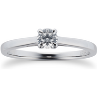 shop for Mappin & Webb Belvedere Platinum 0.33ct Diamond Engagement Ring at Shopo
