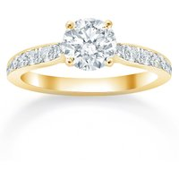 shop for Mappin & Webb Boscobel 18ct Yellow Gold 0.42cttw Diamond Engagement Ring at Shopo