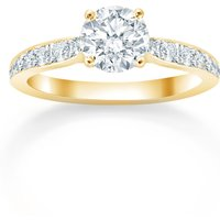 shop for Mappin & Webb Boscobel 18ct Yellow Gold 1.21cttw Diamond Engagement Ring at Shopo