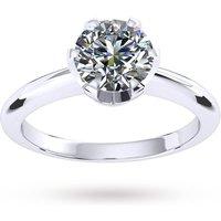 shop for Hermione Platinum 0.25ct Diamond Engagement Ring at Shopo
