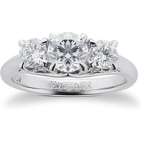shop for Mappin & Webb Ena Harkness Three Stone Engagement Ring 1. ... at Shopo