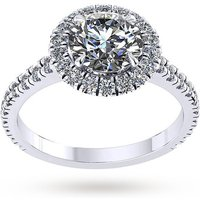 shop for Mappin & Webb Amelia Engagement Ring With Diamond Band 0. ... at Shopo