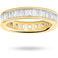 9 Carat Yellow Gold 2.00 Carat Baguette Cut Full Eternity Ring
