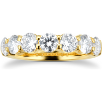 shop for 18ct Yellow Gold 2.38ct Diamond Set Eternity Ring at Shopo