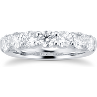 shop for 18ct White Gold 1.75ct Brilliant Cut Diamond Eternity Ring at Shopo
