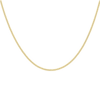 9ct Yellow Gold 60 Curb 46cm Chain