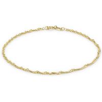 9ct Yellow Gold Twist Curb Bracelet