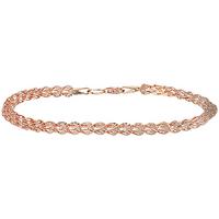 9ct Rose Gold Multilink Bracelet