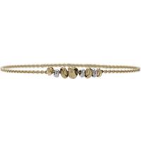 9ct Bicolour Gold Love Knot Bracelet